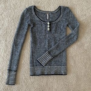 Free People knit sweater.